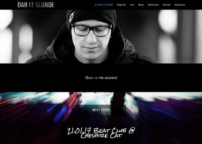 Dan Le Blonde Website