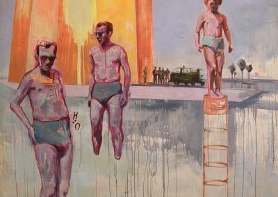 Am Strand Malerei