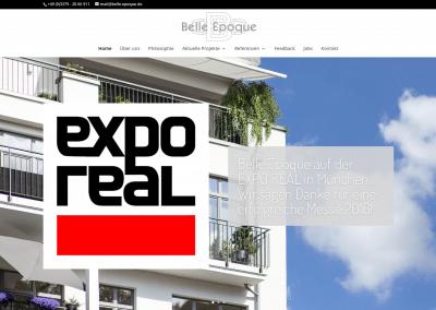 Belle Epoque Website