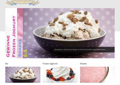 Eismeisterei Website