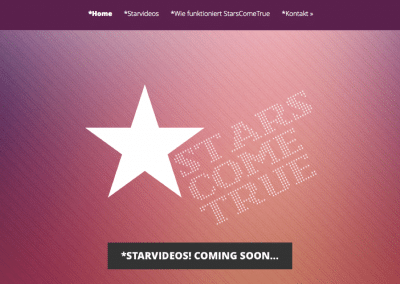 Stars Come True Website