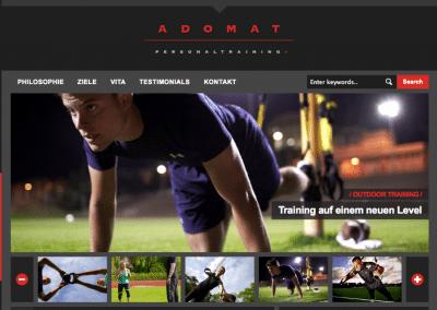 Adomat Website