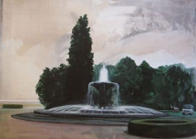 Brunnen Malerei