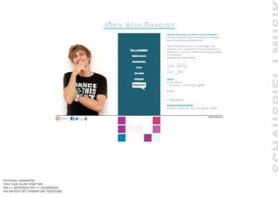 Joern Schlönvoigt Website