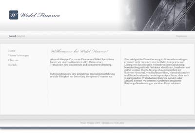 Wedel-Finance Website