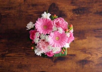Cute pink flowers.
